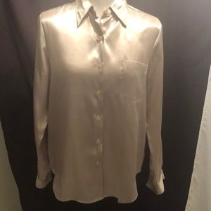 Women's Jaclyn Smith Silky Champagne Blouse